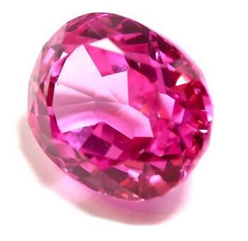 Натуральный розовый топаз