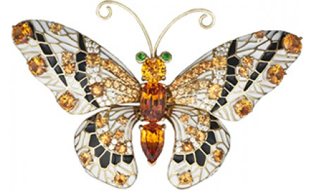 Коллекция ювелирных бабочек-брошей