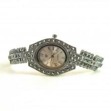 Изящные Наручные Ювелирные Часы Капельное Серебро для Женщин