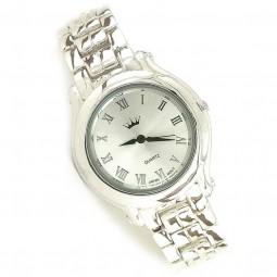 Ювелирные Мужские Наручные Часы из Серебра 925 Пробы