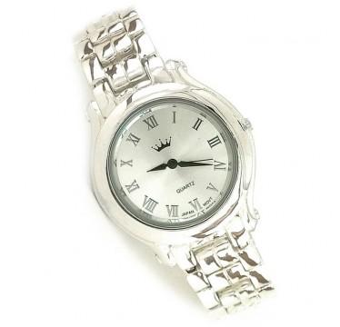 Ювелирные Мужские Наручные Часы из Серебра 925 Пробы (Унисекс)