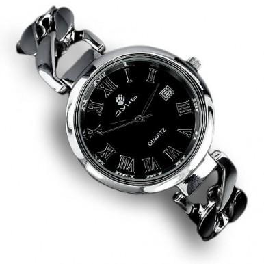 Уникальные Мужские Наручные Часы из Серебра 925 пробы с Покрытием