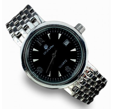 Оригинальные Мужские Наручные Часы из Серебра с Золотым Покрытием