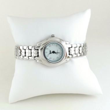 Классические Женские Часы из Серебра с Серебряным Браслетом